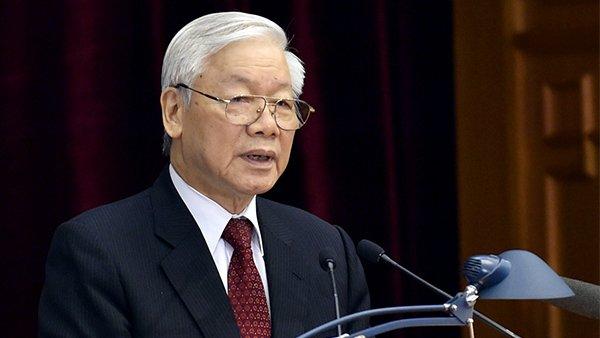 Tổng bí thưNguyễn Phú Trọng. Ảnh: Nhật Bắc