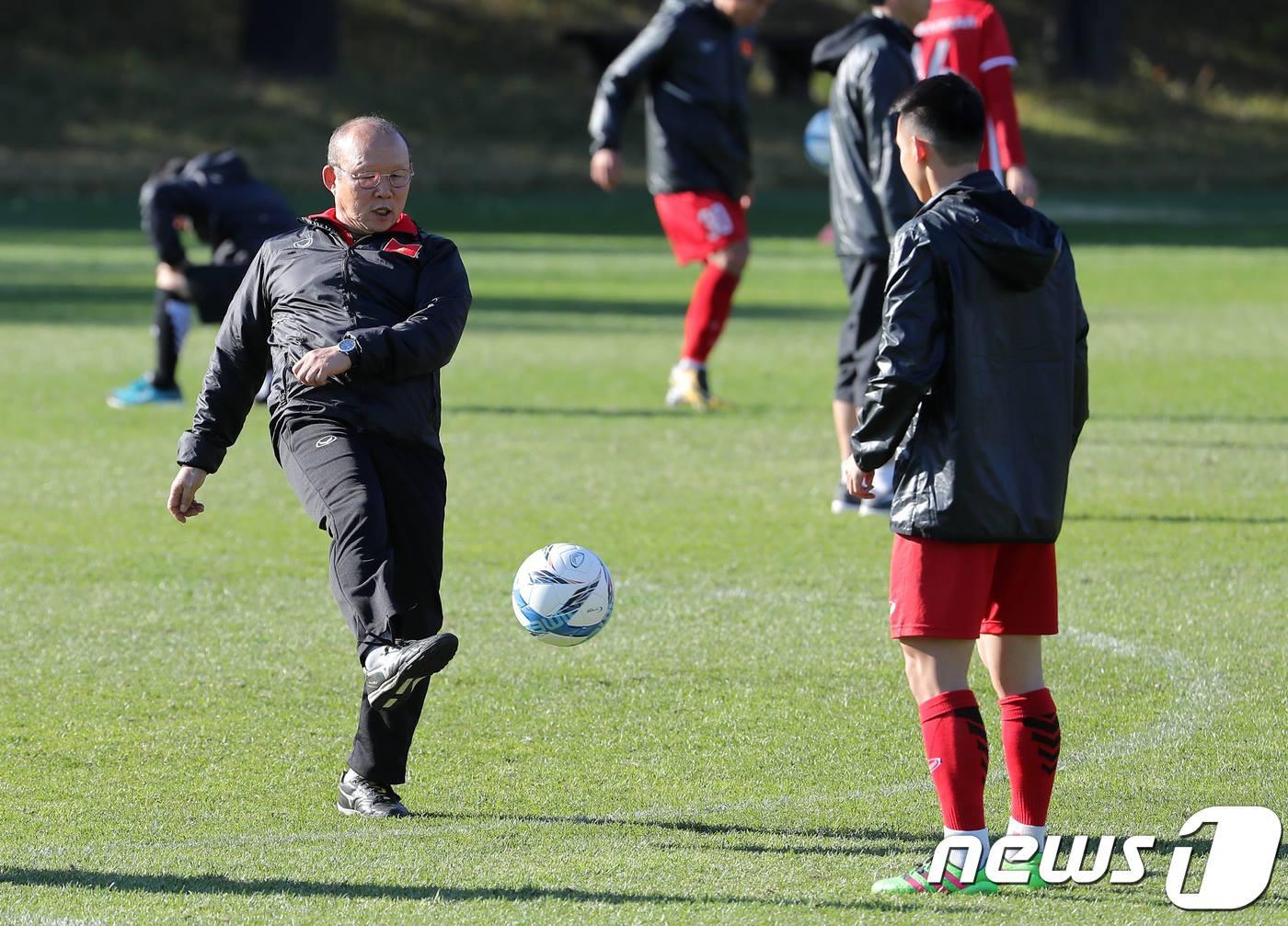 Vào ngày 19/10, đội tuyển Việt Nam sẽ có trận đấu tập với