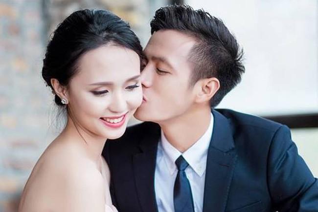 Văn Quyết và vợ đã bí mật thực hiện bộ ảnh cưới tuyệt đẹp tại Tam Đảo.