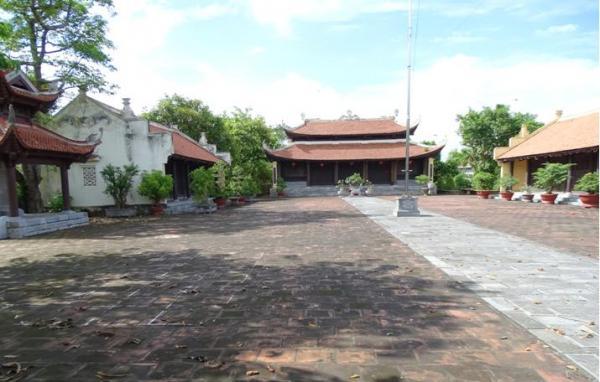 Đền thờ Nguyễn Công Trứ được xếp hạng di tích lịch sử cấp Quốc gia