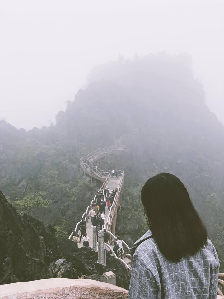Ảnh chụp vào ngày mù sương nên giảm bớt độ lung linh- ảnh Đinh Loan