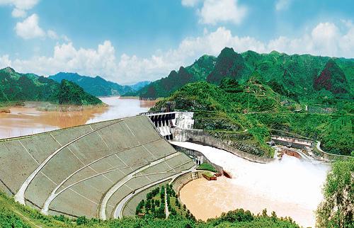 Thủy điện Hòa Bình.