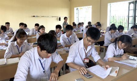 Một giờ ôn tập của lớp 12B1 Trường THPT Kim Sơn A.