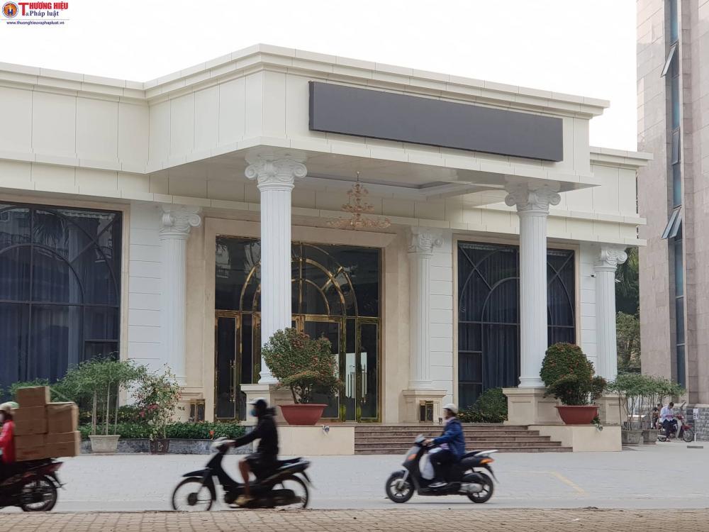 Trung tâm tiệc cưới xây đựng không phép trên đất công cộng cây xanh của Tập đoàn Mường Thanh