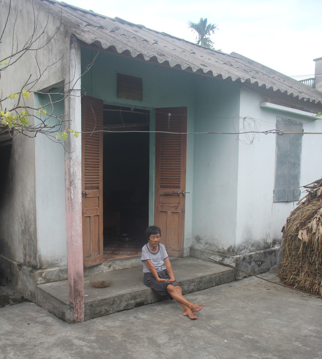 Ngôi nhà nhỏ, nơi chứa đựng biết bao buồn vui trong cuộc đời đầy sóng gió của bà Quế.