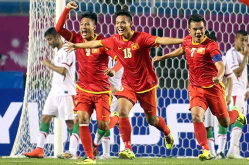 Olympic Việt Nam với kỳ tích trước Olympic Iran ở ASIAD 2014
