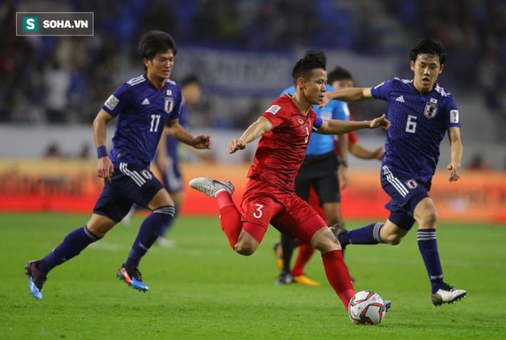 Quế Ngọc Hải đã tri ân người hâm mộ sau trận thua trước Nhật Bản.