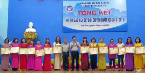 BTC trao thưởng cho các cá nhân có thành tích xuất sắc trong hội thi