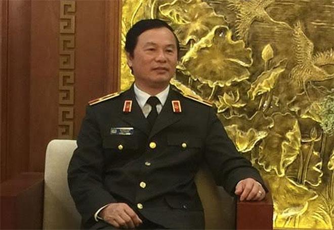 Thiếu tướng Bùi Minh Giám, Cục trưởng Cục đào tạo, Bộ Công an.