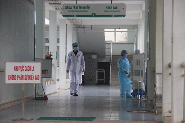Khu vực cách ly bệnh nhân nghi nhiễm COVID-19 của tỉnh Lào Cai. Ảnh: Phương Thảo