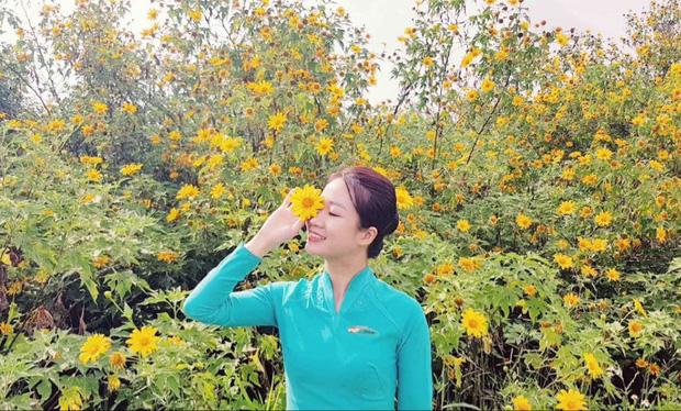 Nữ tiếp viên hàng không Lê Thị Quyên.