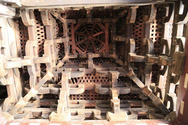 Kiến trúc đặc biệt tại chùa Bảo Quốc (Ảnh: NTDTV)
