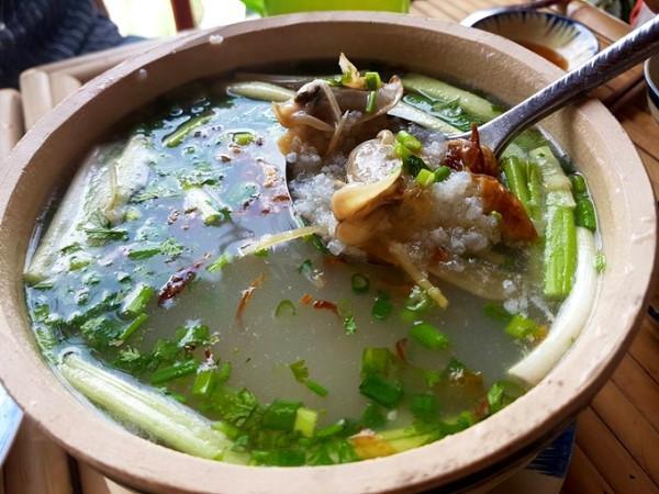 Thịt chang chang ăn gần giống thịt nghêu nhưng ngọt và dai hơn. (Ảnh Baobinhphuoc)