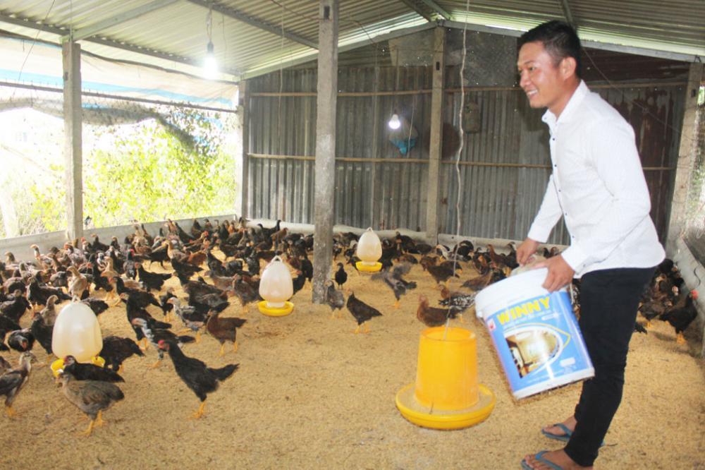 Không chỉ chí thú làm kinh tế, anh Nguyễn Thanh Liêm còn là