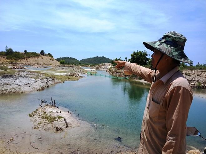 Người dân nhường đất cho dự án lâm vào cảnh thiếu đất sản xuất, trong khi dự án bỏ hoang. (Ảnh: Hùng Võ/Vietnam+)
