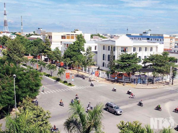Tp. Phan Rang - Tháp Chàm trên đường phát triển. Ảnh: V.M