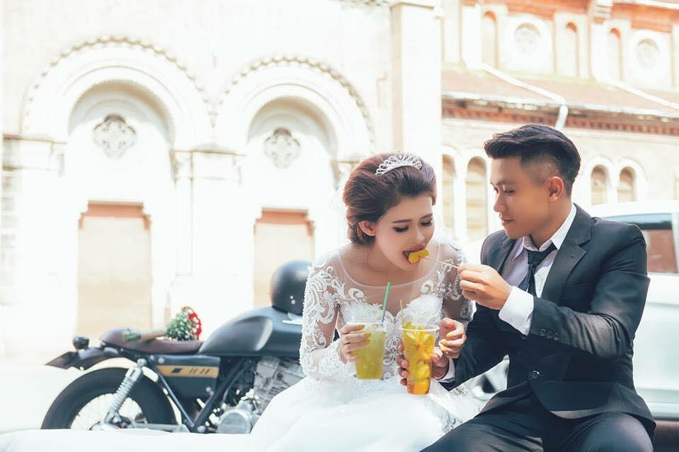 Hồi chụp ảnh cưới còn đẹp trai, bảnh bao thế này
