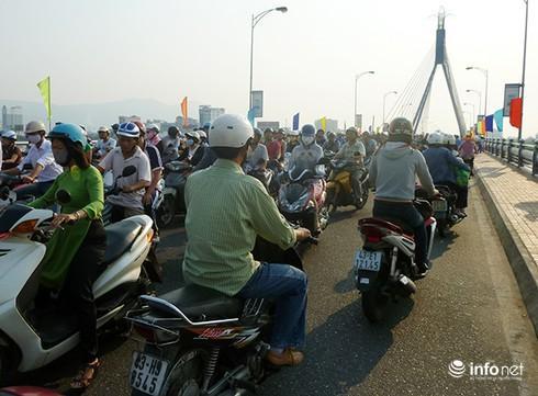 Từ ngày 10 - 20/11, Đà Nẵng sẽ đóng cầu Sông Hàn từ 0h - 4h để thử tải cầu này (Ảnh: HC)