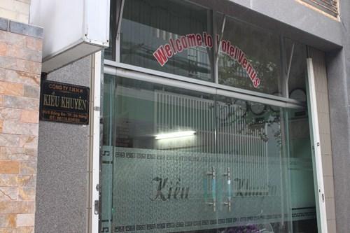 Trụ sở công ty TNHH Kiều Khuyên - Đà Nẵng (ảnh:AT)