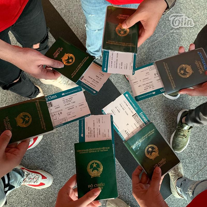 Nhóm bạn ở Đà Nẵng này khởi hành chuyến bay lúc 7h sáng, họ nói cảm thấy rất bất ngờ và hạnh phúc