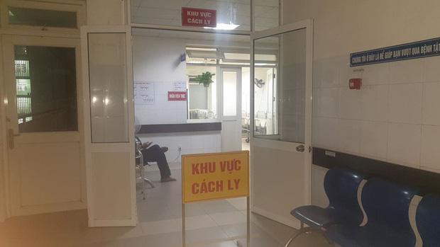Khu vực cách ly tại bệnh viện Đà Nẵng đã sẵn sàng đề phòng trường hợp có bệnh nhân mắc bệnh