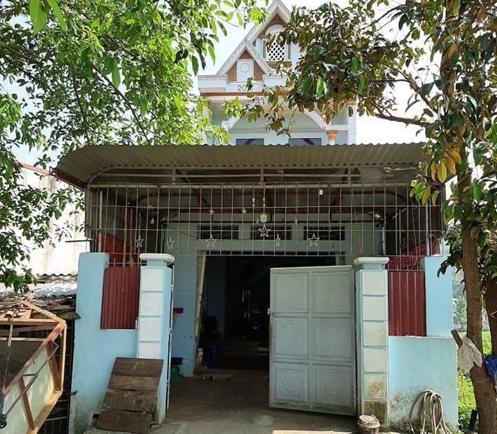 Căn nhà nơi 2 mẹ con S. ở xã Vĩnh Yên, huyện Vĩnh Lộc (Thanh Hóa)