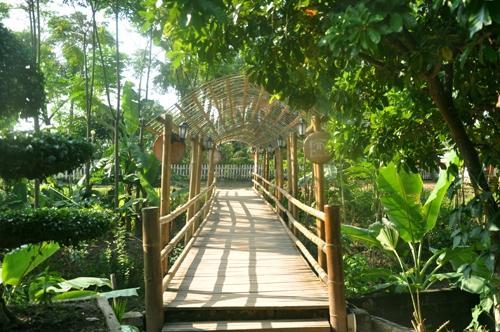 Không gian nghỉ dưỡng của Tre Nguồn Resort thu hút nhiều khách du lịch