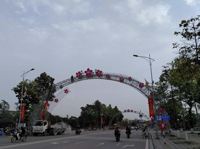 TP Việt Trì đang hoàn tất công tác chuẩn bị cho Lễ hội Đền Hùng.