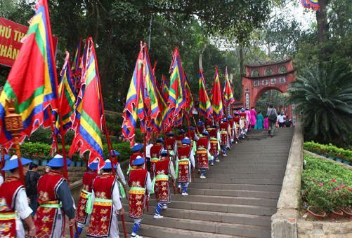 Khu di tích lịch sử đền Hùng. (Ảnh: danviet.vn)