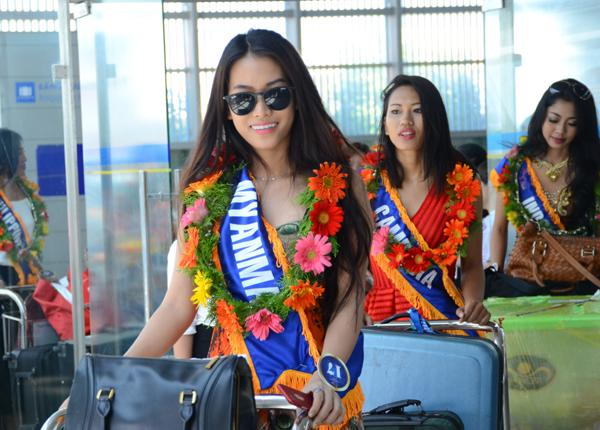 Thí sinh đến từ Myanmar