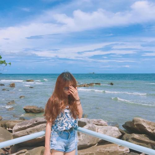 Biển tình yêu của tôi. (Nguồn: lyy_ngn)