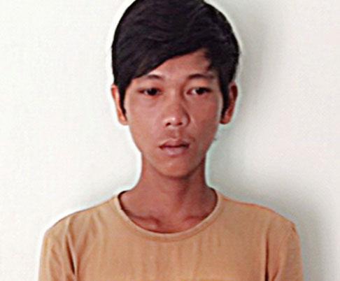 Nghi phạm đánh chết cha Phạm Công Tình - ảnh: BBĐ