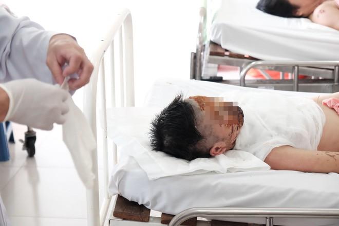 Bệnh nhân Trần Thị Ngọc Đẹp.