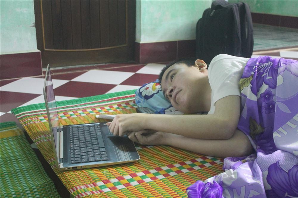 Nguyễn Võ Anh Tuấn đăng ký hiến tạng trên website của Trung tâm Điều phối Quốc gia về ghép bộ phận cơ thể người (Bộ Y tế). Ảnh: Nhiệt Băng