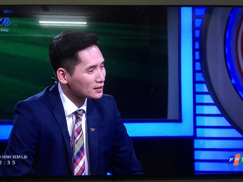 BLV Quốc Khánh đã có nhiều bình luận tích cực sau trận đấu