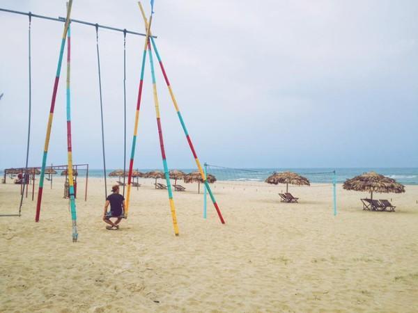 Cảnh quan biển Quảng Bình - Ảnh: Song Bình