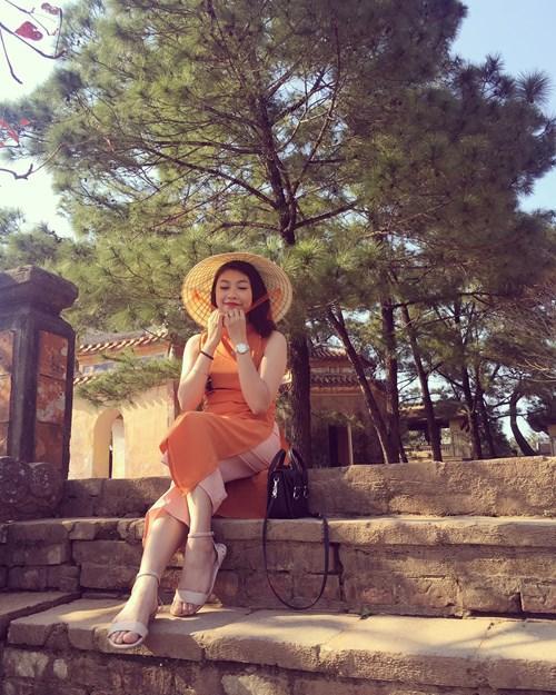 Tọa lạc trên đồi Hà Khê thuộc tả ngạn sông Hương, cách trung tâm thành phố Huế khoảng 5km về phía Tây, chùa Thiên Mụ là một điểm đến tâm linh nổi tiếng của xứ Huế. Ảnh: Phương Ngân Trịnh