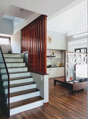 Cách sắp xếp, bố trí nội thất các phòng ban trong ngôi nhà đều rất khoa học, gọn gàng.