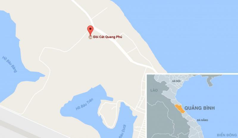 Nếu đến Quảng Bình hãy chinh phục đồi cát Quang Phú, bạn sẽ thấy thiên nhiên đã ưu ái vùng đất cằn như thế nào. Ảnh: Chụp màn hình.