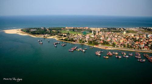 Mũi Bảo Ninh - Xã Bảo Ninh, quê hương mẹ Suốt - Nơi có khu nghỉ dưỡng Sun Spa resort