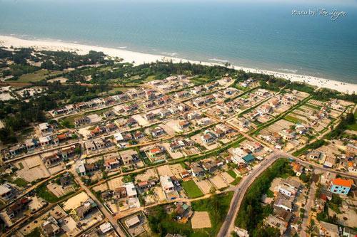 Một làng chài nhỏ bên biển - Xã Hải Ninh