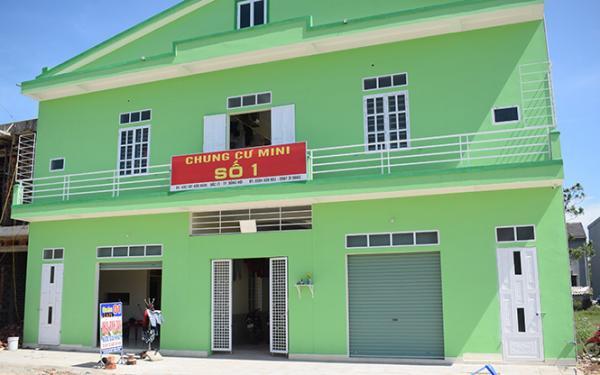 Mô hình chung cư mini tại phường Bắc Lý được nhiều gia đình lựa chọn