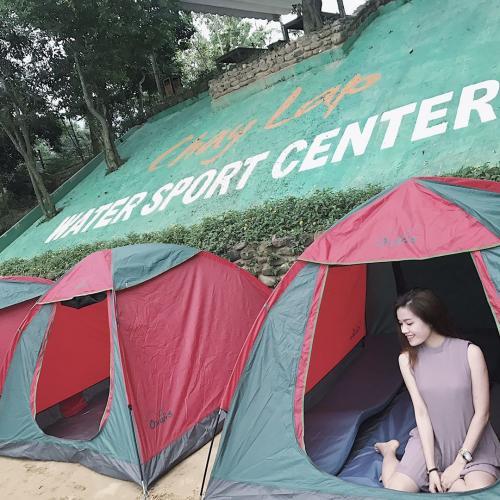 Khu cắm trại qua đêm dành cho những ai muốn hòa mình vào thiên nhiên. (Nguồn: Im.hathanh)