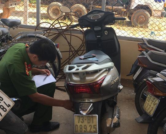 Tang vật mà Thuận lấy trộm trong một vụ án đã được thu hồi