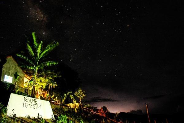 Những đêm trời đầy sao ở Be Home (Nguồn: Behomehomestay Instagram)