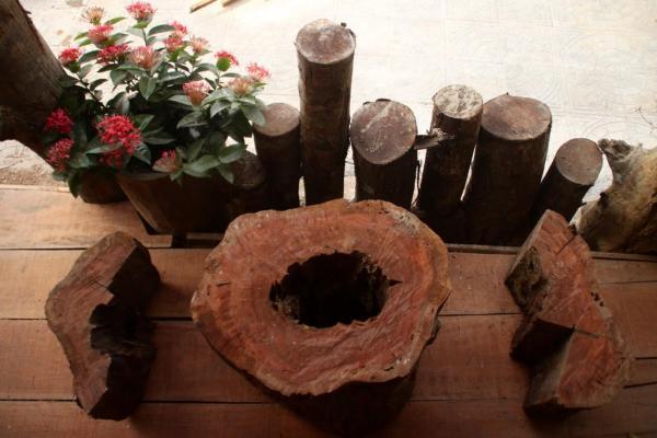 Một ngôi nhà gỗ mộc mạc thôi nhưng sao nó đẹp hiền hòa đến từng chi tiết. (Nguồn: tripnow.vn)
