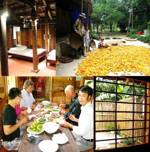 Không quá cầu kỳ, nhưng Chày Lập homestay vẫn có một nét cuốn hút riêng. (Nguồn: nguoiquangnam.vn)