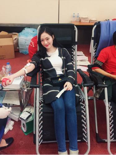 Và thường xuyên đăng ký hiến máu nhân đạo