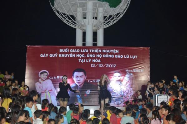 Đêm nhạc gây quỹ từ thiện do Jay Hoo tổ chức