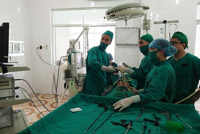 Hoạt động ứng dụng kỹ thuật cao ở Bệnh viện đa khoa khu vực Bắc Quảng Bình đã phát huy hiệu quả tích cực trong công tác điều trị.